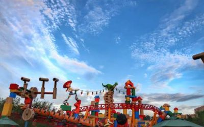 Toy Story Land: Planning to Deal With Crowds