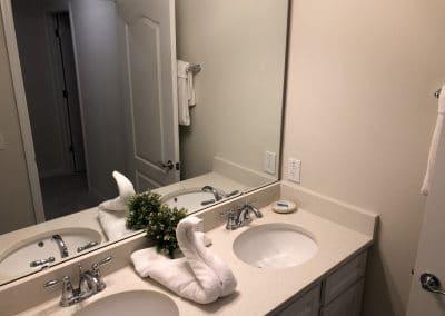Twin Room A&B Bathroom