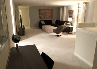 Upstairs (loft) Lounge 1