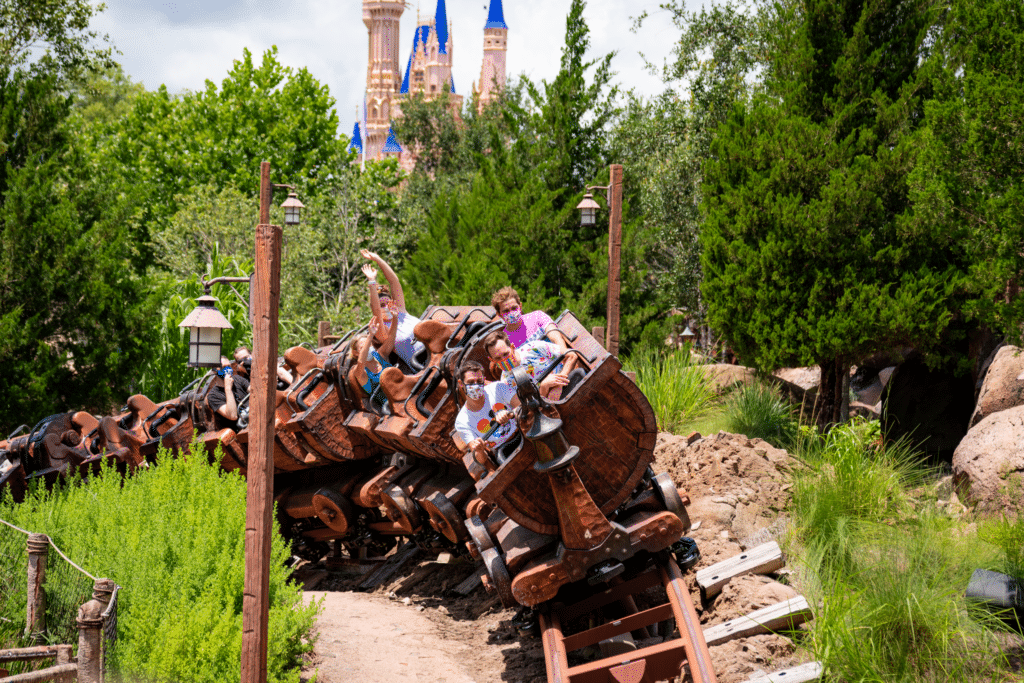 Seven Dwarfs Mine Train at Disney's Magic Kingdom