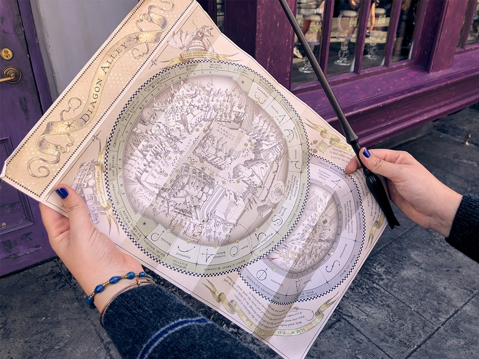 Ravenclaw_Wand&Map