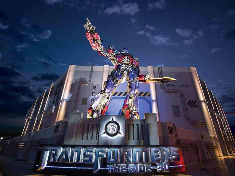 TRANSFORMERS The Ride - 3D at Universal Orlando Resort